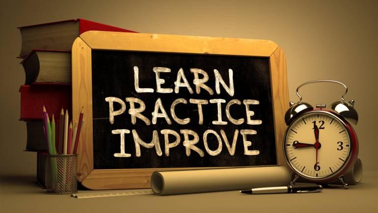 Practice, practice, practice!!!